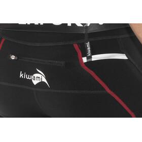 KiWAMi Equilibrium Trail Full Tights Unisex black/red